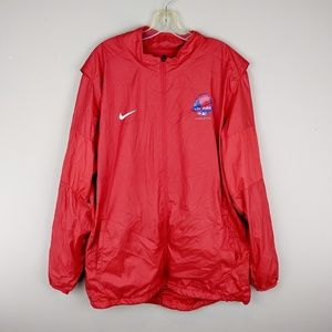 Nike | Red Windbreaker Jacket